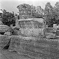 Kapernaum. Architectuurfragmenten bij de deels gereconstrueerde ruine van een sy, Bestanddeelnr 255-1537.jpg