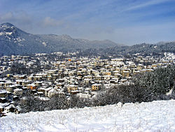 Skyline of Smolyan