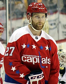 Karl Alzner Canadian ice hockey player