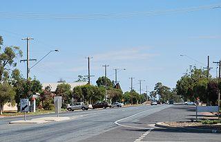 Katamatite Town in Victoria, Australia