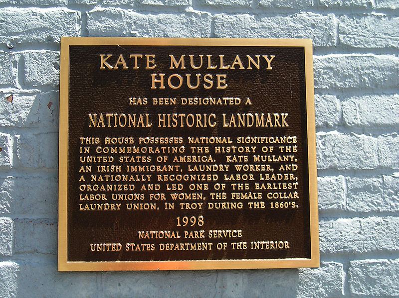 File:Kate Mullany House Marker 30May2008.jpg