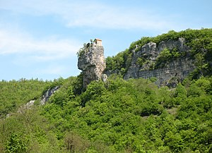 Katskhi pillar - The Katskhi pillar in 2009.
