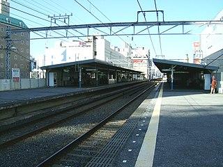 Chiba-Chūō Station railway station in Chuo-ku, Chiba, Chiba prefecture, Japan