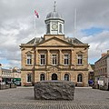 Kelso Town Hall with the Kelsae Stane in foreground.jpg