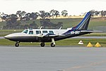 Kenmore Aviation Services (VH-ORT) Piper PA-60-600 Aerostar at Wagga Wagga Airport (1).jpg