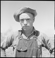 "Kern County, California. Migrant youth in potato field. ""Okie"" in a California potato field - NARA - 532142.tif"