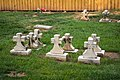 Kerr childrens graves section 67 - Mt Olivet - Washington DC - 2014.jpg
