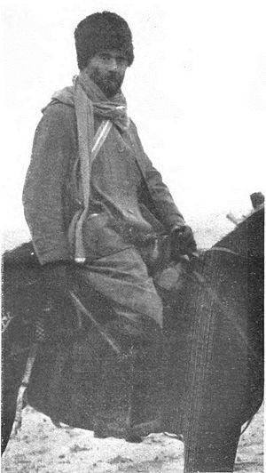 Khetcho - Khetcho on horseback