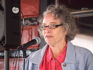 Kim Roberts - Kim Roberts reading at Literary Hill Book fest, 2017