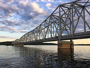 Kimberling City, Missouri - Kimberling City Bridge where Missouri 13 crosses over Table Rock Lake