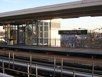 King Drive station - Image: King drive