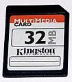 Kingston Multi Media Card 32MB front 20040702.jpg