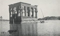 Kiosk of Philae During the Flood (1906) - TIMEA.jpg