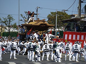 Kishiwada, Osaka - Kishiwada Danjiri Festival
