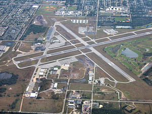 Kissimmee Gateway Airport - Aerial view of Kissimmee Gateway Airport
