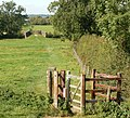 Kissing gate on the footpath from Braunston to Willoughby - geograph.org.uk - 1483935.jpg