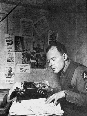 Klaus Mann - Klaus Mann, Staff Sergeant 5th US Army, Italy 1944