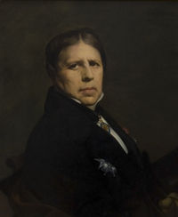 Kmska Jean Auguste Dominique Ingres (1780-1867) - Zelfportret (1864) - 28-02-2010 13-37-05.jpg