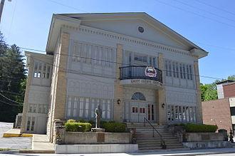 Knott County, Kentucky - Image: Knott County Courthouse