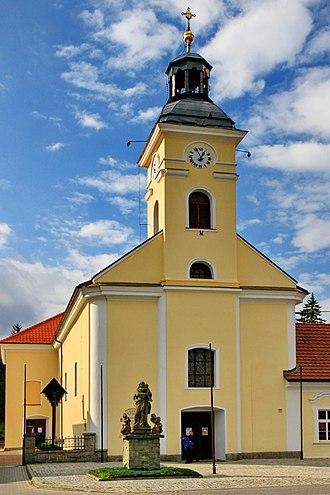 Ustroń - Image: Kościół św. Klemensa w Ustroniu 1