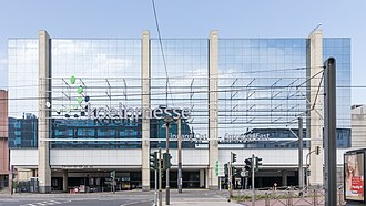 Gamescom - The Koelnmesse (eastern entrance) where the event is annually held.