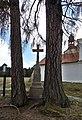 Kostel Nejsvětější Trojice (Trhové Sviny), kříž 01.jpg