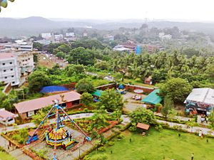 Malappuram - Kottakkunnu, a view from giant wheel