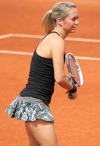Klára Koukalová - Koukalová at the 2014 Mutua Madrid Open