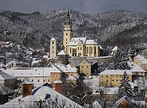 Kremnica - Image: Kremnica v zime