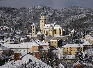 Kremnica Town in Slovakia