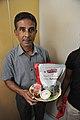 Krishna Kanta Chatterjee Holds Packed Lunch - CRTL Silver Jubilee Celebration - NCSM - Kolkata 2018-03-13 8572.JPG