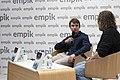 Krzysztof Domaradzki spotkanie autorskie w Empiku.jpg