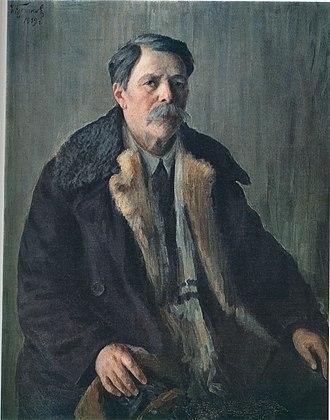Ivan Kulikov - Self-portrait (1939)