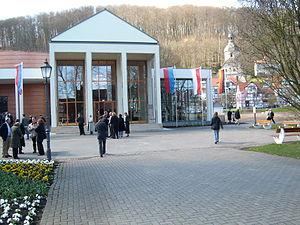Bad Sooden-Allendorf - Spa hall entrance area