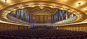 All Cried Out (Alison Moyet song) - Image: Kurhaus Wiesbaden Friedrich von Thiersch Saal