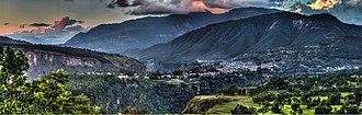 Kusma, Nepal - Image: Kushma Parbat