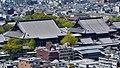 Kyoto Kyoto Tower Blick auf Nishi Hongan-ji 2.jpg