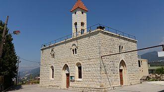 Kfarfou - the church of the village