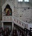 Léhon, Chaire de prêche en l'abbaye Saint-Magloire.jpg
