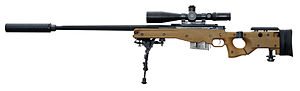 Accuracy International AWM - British Armed Forces AWM 338, designated L115A3