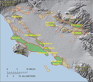 Los Angeles Basin - LA Basin Oil Fields, USGS