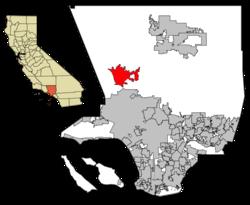 Santa Clarita en Los-Anĝeleso