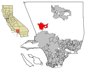 Santa Clarita Valley - Image: LA County Incorporated Areas Santa Clartia Valley