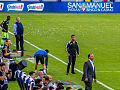 LA Galaxy vs Seattle Sounders sideline.jpg