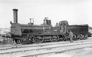 Alexander Allan (locomotive engineer) - Image: LNWR engine No.3074
