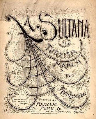 1892 in music - Image: La Sultana