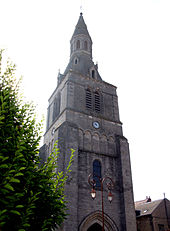 Le clocher de l'église Saint-Germain, en 2008.