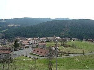 La Chambonie - A general view of La Chambonie