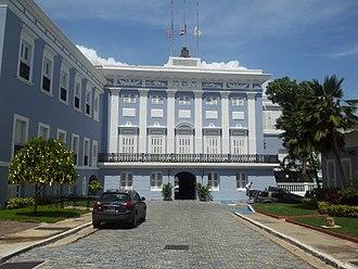 La Fortaleza - Front view of La Fortaleza