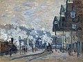 La Gare Saint-Lazare, Vue extérieure by Claude Monet.jpg